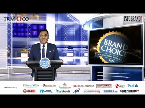 Sambutan Editor in Chief INFOBRAND.ID dalam Virtual Award Ceremony Brand Choice 2021