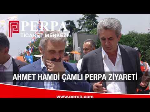 Ahmet Hamdi Çamlı Perpa Ziyareti 1