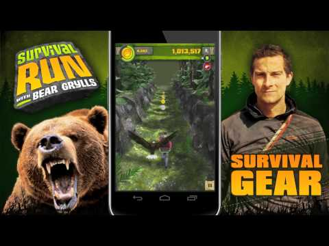 Video of Survival Run with Bear Grylls