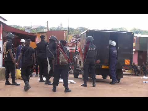 Poliisi ebadde egoba abatunuulira ekibwatuka e Mulago