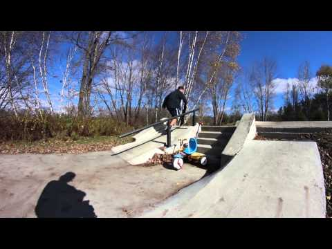 Fall in Maine | Bethel Skatepark