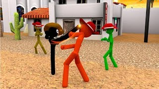Stickman fighter 3d 2018 / Android Gameplay HD