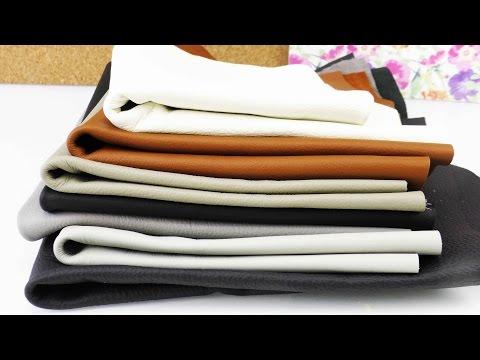 Haul Lederreste | Kathi probiert ein neues Material aus | DIY mit Leder