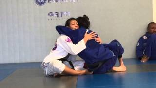 Leticia Ribeiro 2015 Worlds Championship Training Camp Gracie South Bay