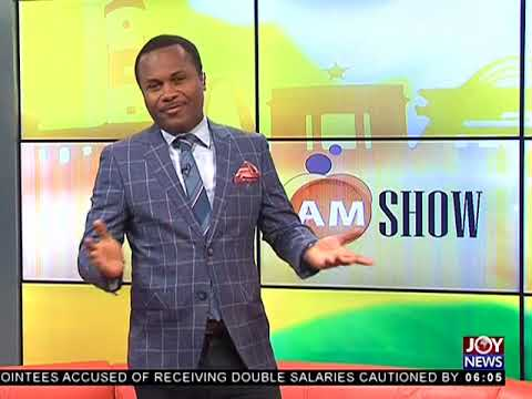 AM Show Intro on JoyNews (18-4-18)