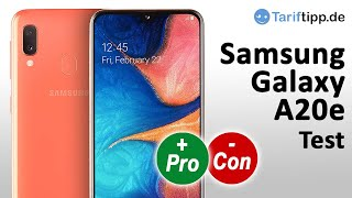 Test Samsung Galaxy A20e   Das neue Samsung Einsteiger-Handy im Test
