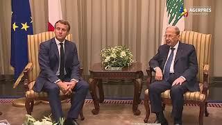 Preşedintele francez Macron avertizează Libanul: reforme rapide sau sancţiuni