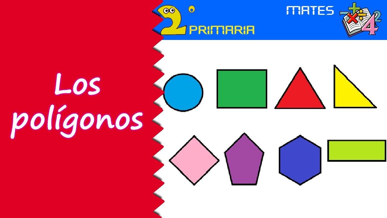 Mate, 2º Primaria. Tema 5. Los polígonos