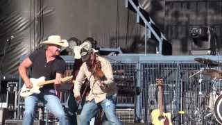 Tate Stevens sings Holler If You're With Me live at Boots and Hearts 2013