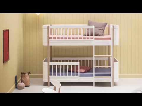 Lit Wood Mini+ Oliver furniture - évolutif, design et écoresponsable