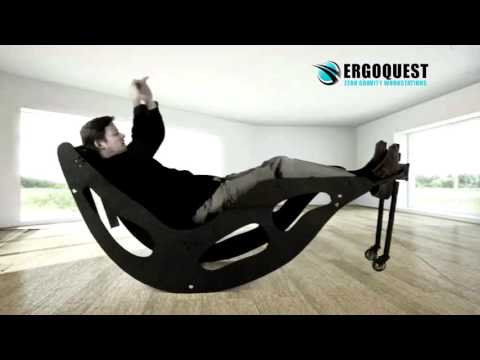 Video Zero Gravity Rocking Chair with Kinetic Therapy