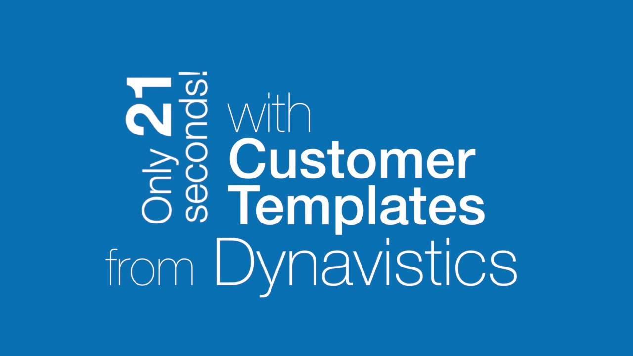 Customer Templates