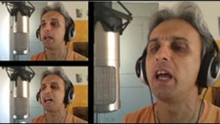 How to sing a cover of If I Needed Someone Beatles vocal harmony