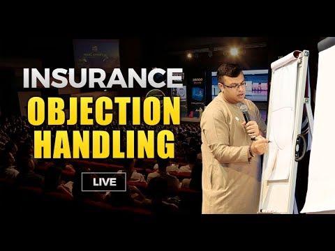 Insurance Objection Handling | Objection Handling Training Live ...
