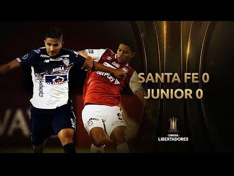 Melhores momentos | Santa Fe 0 x 0 Junior | Libert...