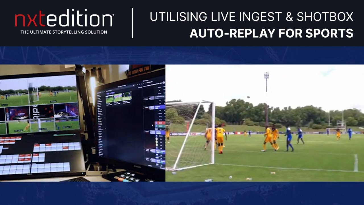 How can you create an 'Auto-Replay' during remote production of sport?