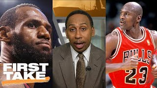Stephen A. Smith: LeBron James can never surpass Michael Jordan | First Take | ESPN - Video Youtube