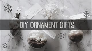 LAST MINUTE CHRISTMAS GIFTS!!! ♡ Hot Chocolate Ornaments 🎄☕ | ShayBrit