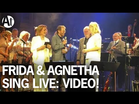ABBA REUNION 2016! Agnetha & Frida sing The Way Old Friends Do LIVE at Berns, Stockholm, June 2016.