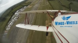 GIANT SCALE RC Stearman and Pitts (Onboard action): Wings & Wheels Model Spectacular 2015