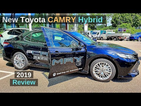 New Toyota CAMRY Hybrid 2019 Review Interior Exterior
