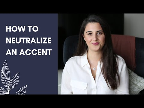 How to Neutralize an Accent │American Accent Training