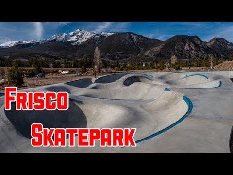 The Brand New Frisco Skatepark!!!