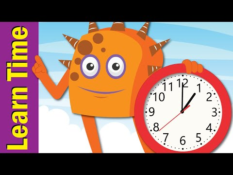 Tell the Time Song | Learn to Tell Time for Kids