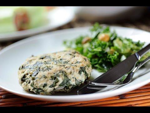 Receta Detox - Hamburguesas de pavo con espinaca - Fácil de preparar