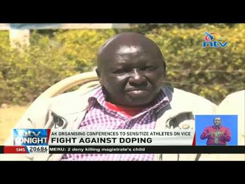 Athletics Kenya organises conferences to sensitize athletes on doping