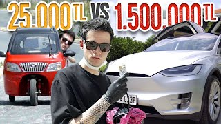 25.000TL Elektrikli Araba VS. 1.500.000TL Elektrikli Araba! (#SonradanGörme) Yuki , Renault Twizy ve Tesla Model X inceliyor ve karşılaştırıyoruz! Orkun Işıtmak http://instagram.com/orkunisitmak  Reklam & İşbirlikleri: http://www.orkunisitmak.com  Müzik Epidemic Sound: http://bit.ly/2b3Hv9A