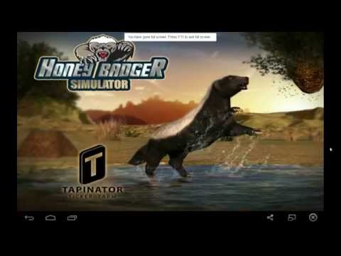 Honey Badger Simulator Gameplay - Run out of Farts = Get Mauled by a Lion