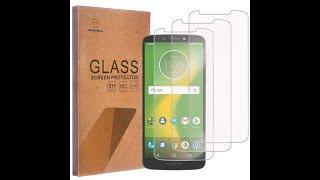MetroPCS Motorola Moto E5 Plus Tempered Glass Screen Protector Unboxing