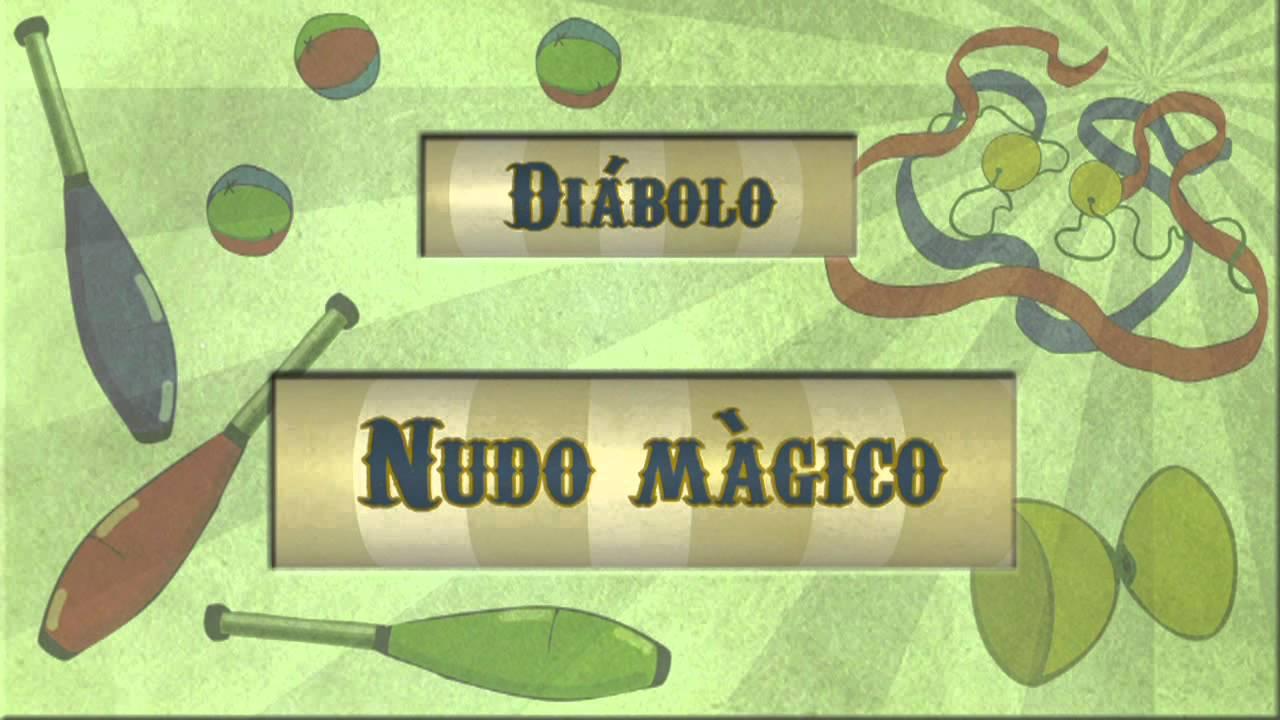 Archi malabares diábolo: Nudo mágico
