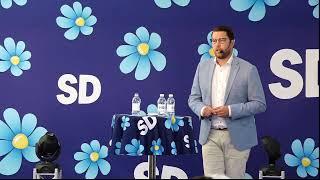 Presskonferens Med Jimmie Åkesson - 7/7 2019