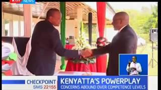 President Kenyatta has replaced key personnel within his power circle