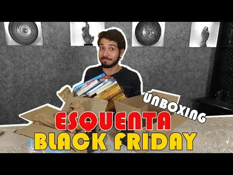Comprinhas Black Friday 2017 Parte 1/2 | Unboxing & Book Haul | O Refúgio