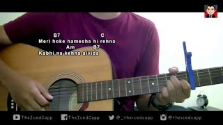 Janam Janam - Dilwale | TheIcedCapp Cover + easy chords
