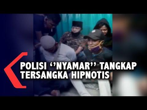 polisi nyamar tangkap tersangka hipnotis