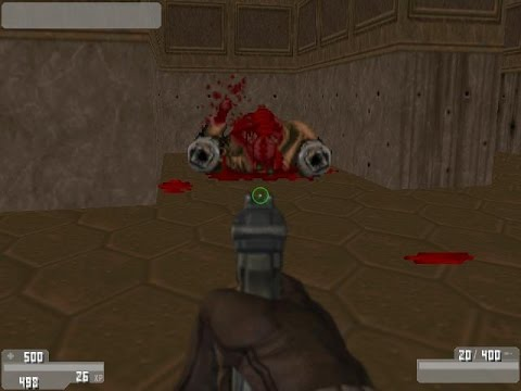 Doom 2 Mod HaloDoom Weapons Gameplay Part 3/4 Full - смотреть онлайн