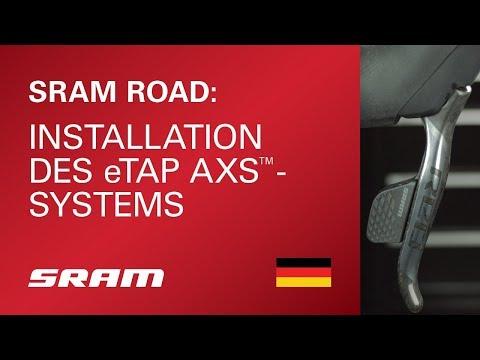 Installation des SRAM eTap AXS-Systems