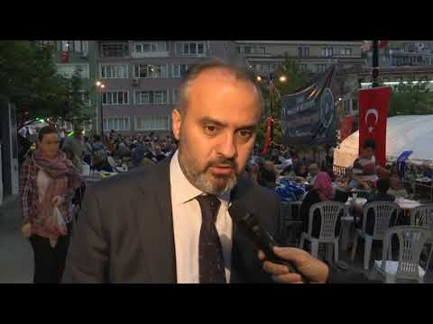 Emir Sultan'da ramazan bereketi (видео)