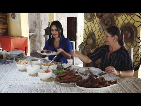 Galinha de Capoeira do Restaurante Pesque Pague de Alagoa Nova PB