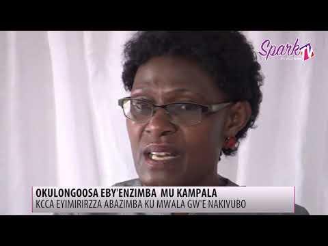KCCA eyimirizza abadde azimba mu ku mwala gw'e Nakivubo