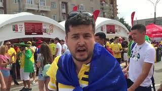 Украинский болельщик наплевал на рекомендации властей и приехал на ЧМ-2018