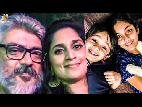 Viral: Thala Ajith Cute Family | Shalini, Anoushka Ajith,  Aadvik Ajith | Celebrity Latest News