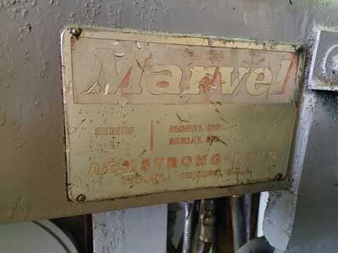 """18"""" x 20"""" MARVEL VERTICAL BAND SAW"""