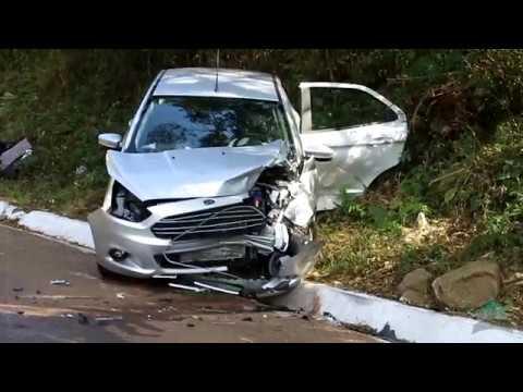 Acidente na BR 480, em Barão de Cotegipe, deixa cinco feridos