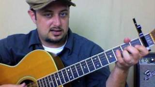 Guitar Lessons - Free Falling by Tom Petty Easy acoustic song