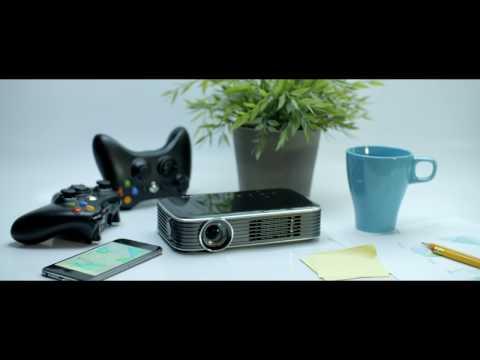 vivitek Qumi Q8 black (Full HD, 1000lm, WiFi, LED, 34dB)